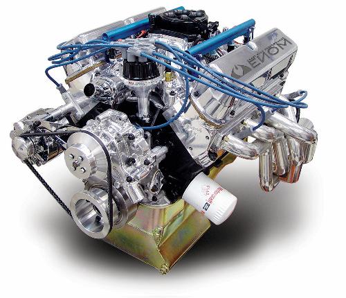 351 Windsor Supercharger Kit: CHP INJECTED VENOM DOMINATOR Crate Motor