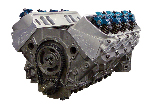 CHP DOMINATOR Long Block - Chevy 406 Flat Top -4.0cc