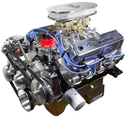 351 Windsor Supercharger Kit: CHP VENOM DOMINATOR Crate Motor
