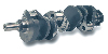 "SCAT Std Weight 4340 Crankshaft Chevy 454 4.250"" Stroke"