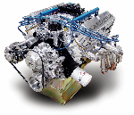 CHP INJECTED VENOM STREET FIGHTER Crate Engine - Ford 331 Stroker Flat Top, 10.10 : 1