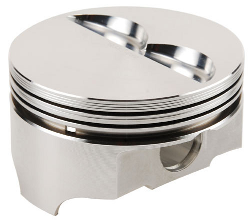 12335 Chevy 350 4 0cc Flat Top Srs Pistons