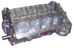 CHP Dominator Short Block - Chevy 406 Flat Top -4.0cc