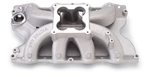 Edelbrock Victor Intake Manifold - Ford 429/460 Big Block, Polished