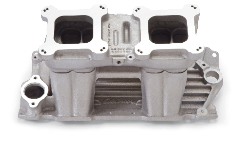 Edelbrock Street Tunnel Ram Intake Manifold - Chevy Small Block, Satin (Top  Only)