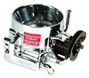 Professional Products Throttle Body - Single Blade, 80mm - Polished