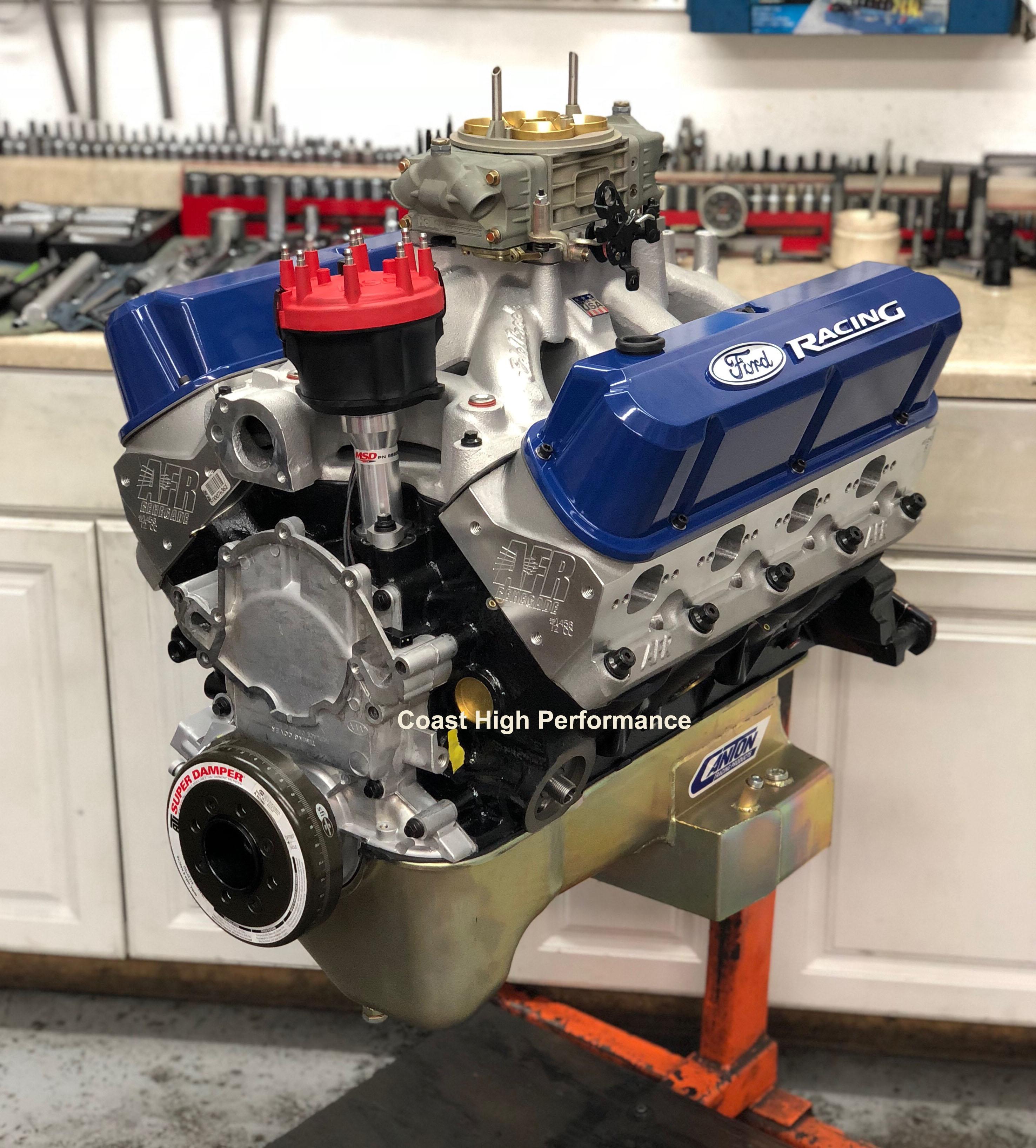 high performance horsepower - crate engines, long blocks, short